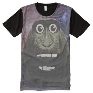 Excited Monkey All-Over-Print T-Shirt