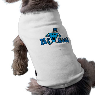 Excited Mr. Cool Jumping For Joy Dog Shirt