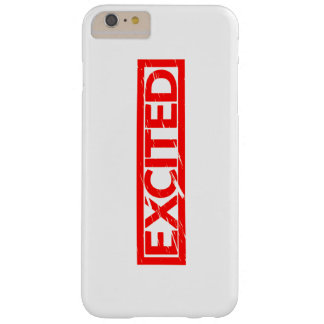 Excited Stamp Barely There iPhone 6 Plus Case