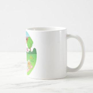 Exciting Happy Mug Illustration