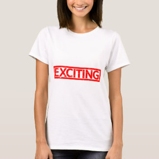 Exciting Stamp T-Shirt