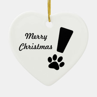 EXCLAMATION CAT PAW! Ornament