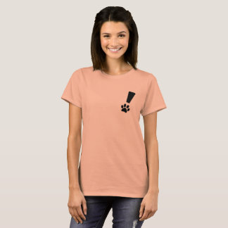Exclamation Cat Paw T-Shirt