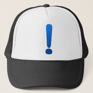 Exclamation Mark Trucker Hat