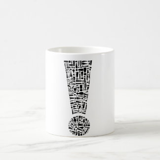 Exclamation Point Coffee Mug