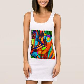 Exclamation Sleeveless Dress