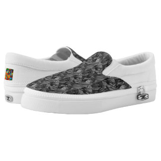 Exclamation Slip-On Sneakers