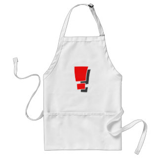 Exclamation Standard Apron