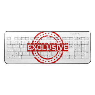 Exclusive Custom Wireless Keyboard