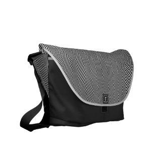 Exclusive Herringbone Commuter Bag