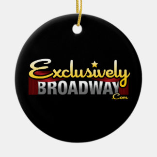 ExclusivelyBroadway.com Ornaments