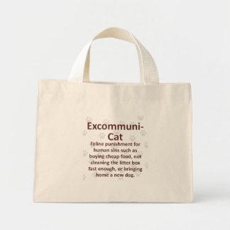 Excommuni-Cat Mini Tote Bag