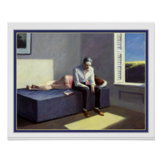Excursion Into Philosophy by Edward Hopper Poster