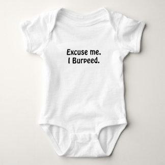 Excuse Me I Burpeed Baby Bodysuit