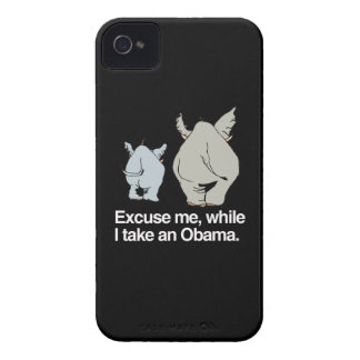 Excuse me while I take an Obama -.png iPhone 4 Case-Mate Cases