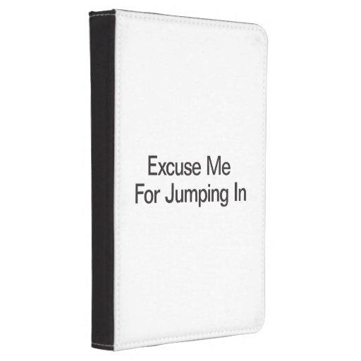 Excusez-moi pour sauter In.ai Coque Kindle