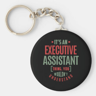 Executive Assistant Keychain