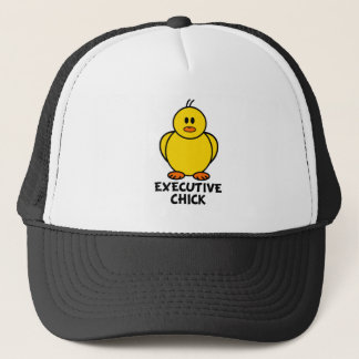 Executive Chick Trucker Hat