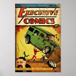 Executive Comics Poster