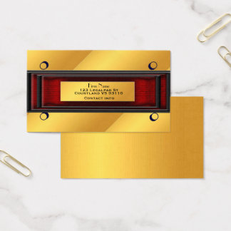 Executive Gold Card