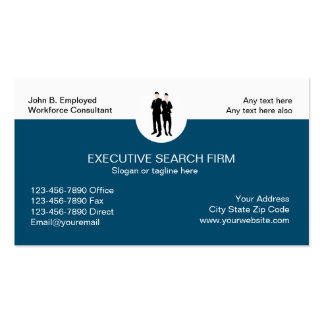 Executive Search Business Cards