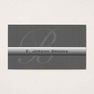 Executive Series M-2 (Dark Gray) Business Card