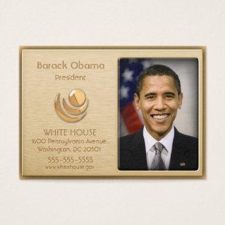 Executive VIP Gold Custom Profile Cards