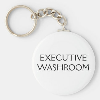 EXECUTIVE WASHROOM KEYCHAIN