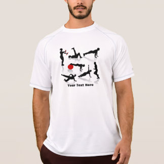 Exercise Figures (personalized) T-Shirt