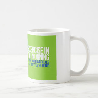 Exercise in the Morning Mug