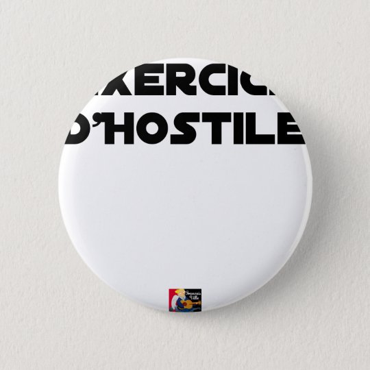 Exercise of Hostile - Word games François City 2 Inch Round Button
