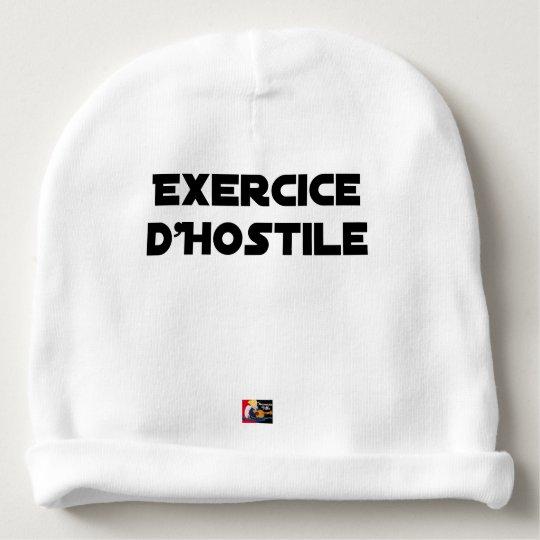 Exercise of Hostile - Word games François City Baby Beanie
