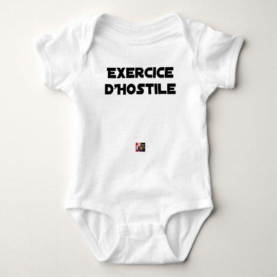 Exercise of Hostile - Word games François City Baby Bodysuit