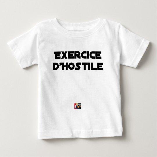 Exercise of Hostile - Word games François City Baby T-Shirt