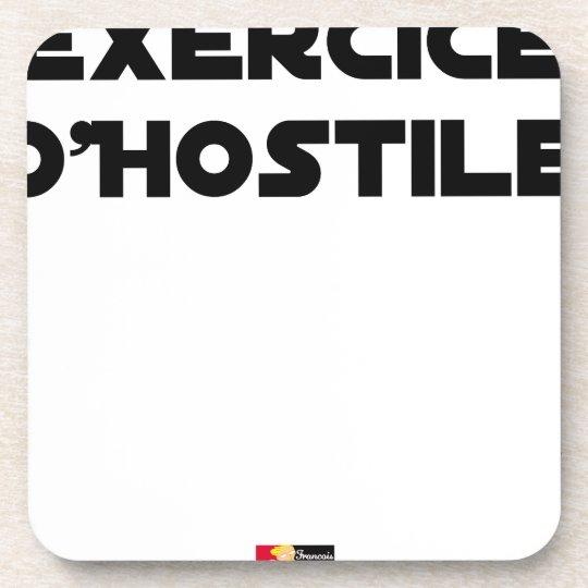 Exercise of Hostile - Word games François City Coaster