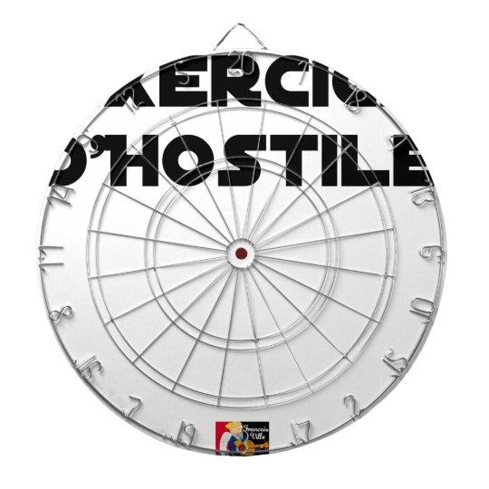Exercise of Hostile - Word games François City Dartboard
