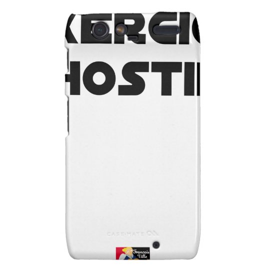 Exercise of Hostile - Word games François City Droid RAZR Covers
