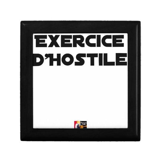 Exercise of Hostile - Word games François City Gift Box