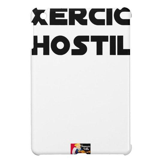 Exercise of Hostile - Word games François City iPad Mini Cases