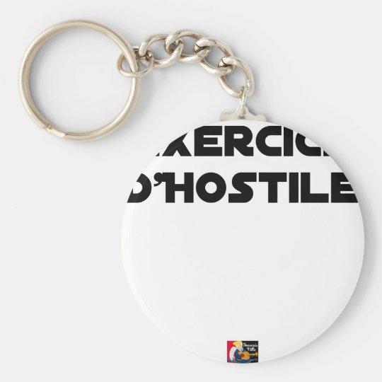 Exercise of Hostile - Word games François City Keychain