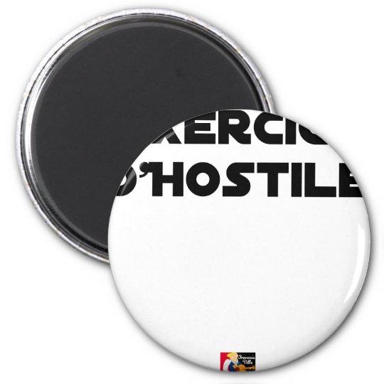 Exercise of Hostile - Word games François City Magnet