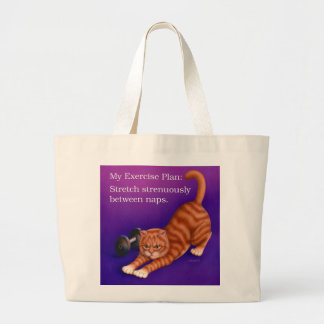 Exercise Plan Canvas Bags