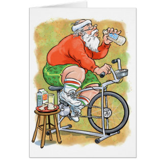 Exercise Santa Card