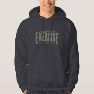 Exercise: Self-control (Hoody) Hooded Pullover