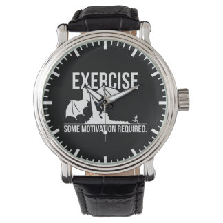 Exercise, Some Motivation Required, Dragon - Funny Watch