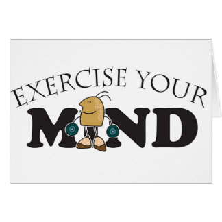 Exercise  Your Mind Card