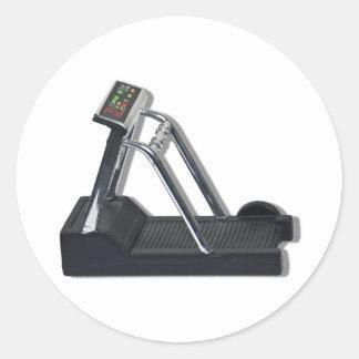 ExerciseTreadmill092610 Classic Round Sticker