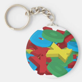 Exes and Ohs Keychain