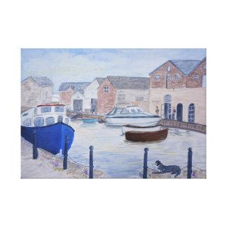Exeter Quay Devon UK Canvas Print