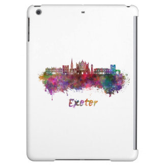 Exeter skyline in watercolor case for iPad air
